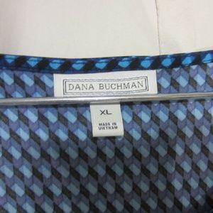 Dana Buchman Tops - Dana Buchman, XL, Abstract in Blues Top